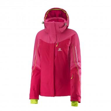 Salomon Iceglory Jacket wms lotus pink 15/16