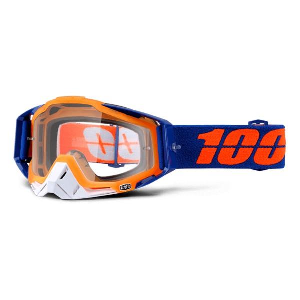 100% Racecraft anti fog clear derestrict 2016