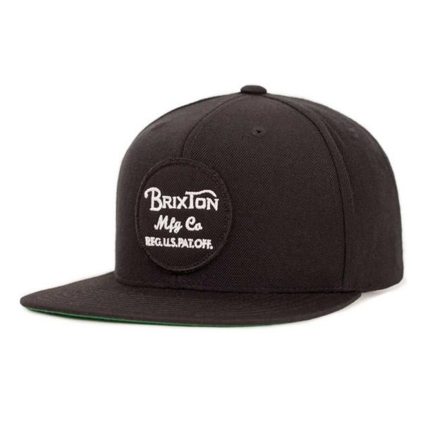 Brixton Wheeler Snapback black 2018