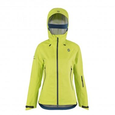 Scott Explorair 3L Jacket wms limeade yellow 16/17