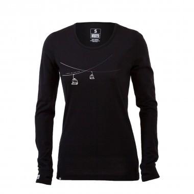 Mons Royale Original LS wms black 15/16