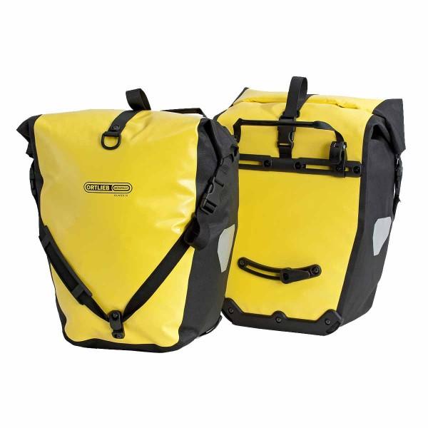 Ortlieb Back Roller Classic Paar gelb / schwarz