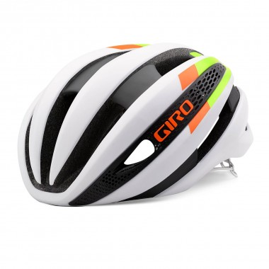 Giro Synthe mat white/lime/flame 2016