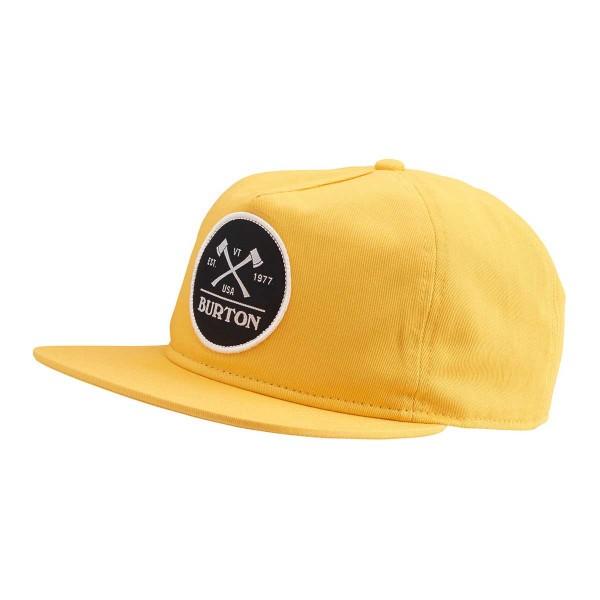 Burton Woodsman Snap Cap golden rod 14/15