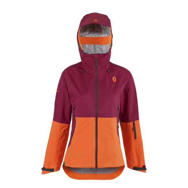 Scott Explorair 3L Jacket wms purple/orange 16/17