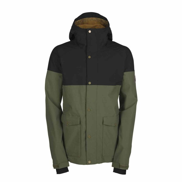 Bonfire Tanner Jacket bunker/black 14/15