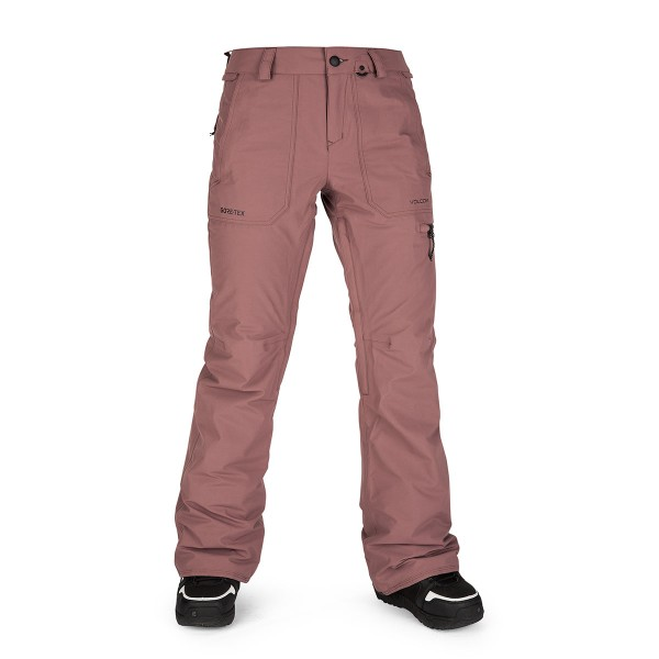 Volcom Knox Insulated Gore Pant wms rose wood 20/21