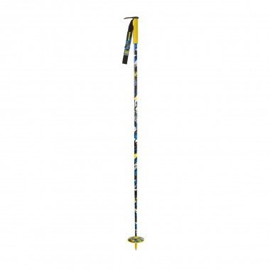 Line Whip Skistöcke yellow 15/16