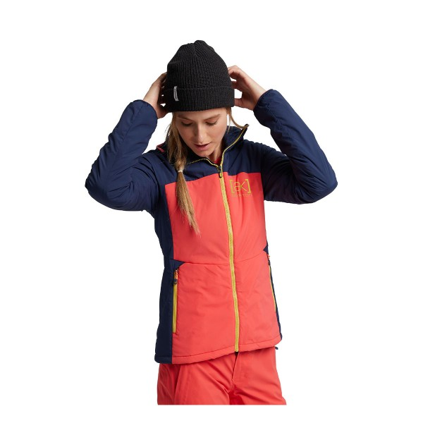 Burton ak Helium Hood Jacket wms hib pink/blue 20/21