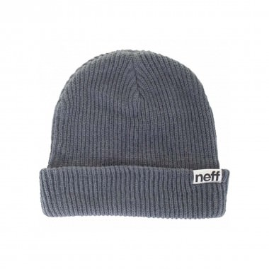 Neff Fold Beanie grey/blue 15/16
