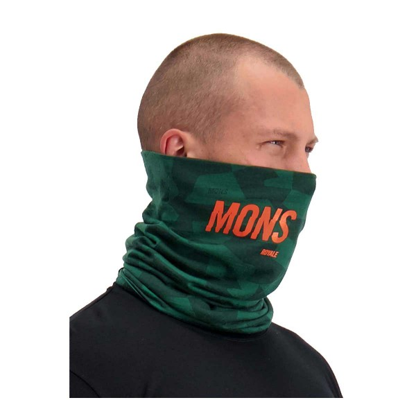 Mons Royale Double Up Neckwarmer pine camo 19/20