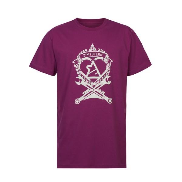 Zimtstern T-Shirt TSM_True Love raspberry 2013