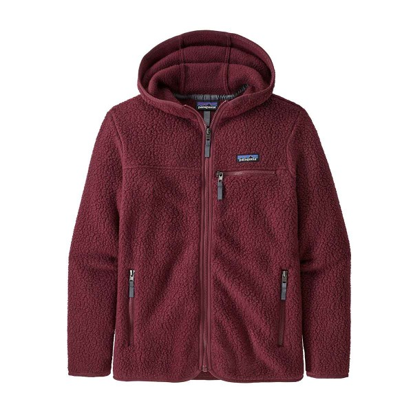 Patagonia Retro Pile Hoody wms chicory red 20/21