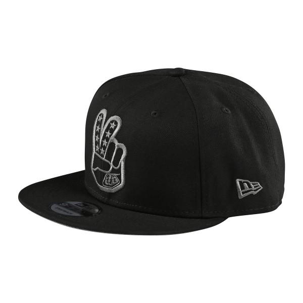 Troy Lee Peace Sign Snapback Hat black 2020