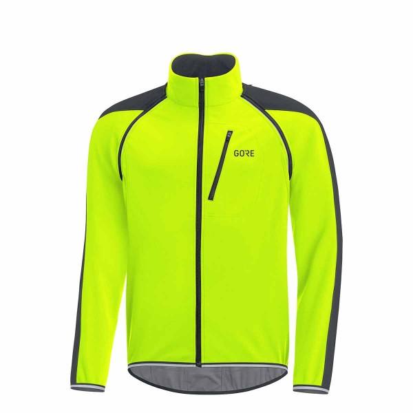 Gore Wear C3 Gore WS Phantom Zip Jacket yellow / black 19/20