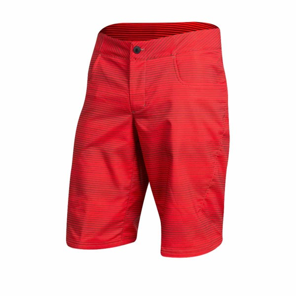 Pearl Izumi Canyon Print Short red / stripe 2019