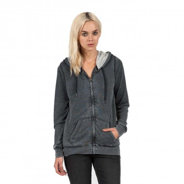 Volcom Lived In Sherpa Zip Fleece wms black 15/16