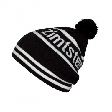 Zimtstern Lost Beanie black/white 13/14