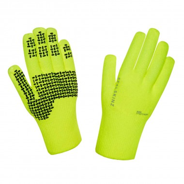 Sealskinz Ultra Grip Hi Vis Gloves neongelb 16/17