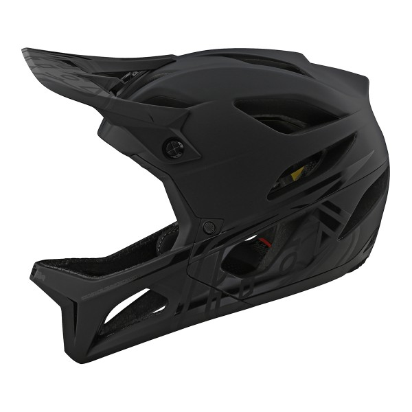 Troy Lee Stage stealth midnight 2021