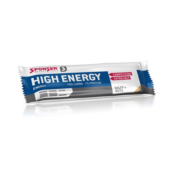 Sponser High Energy Bar 45g salty nuts
