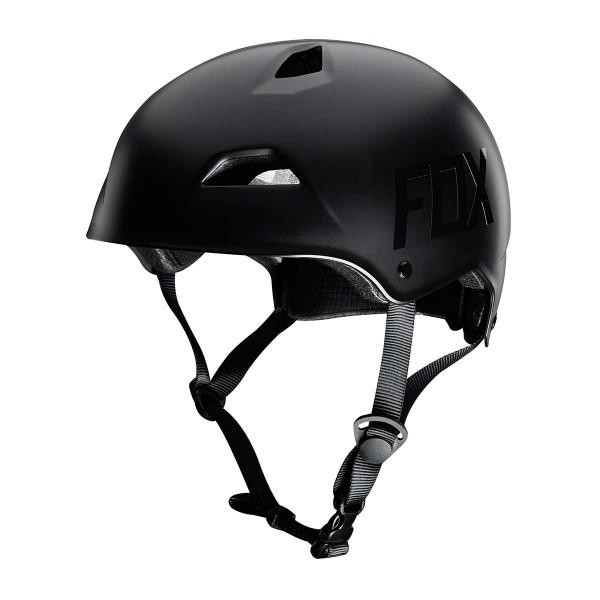 Fox Flight Hardshell Helmet matte black 2016