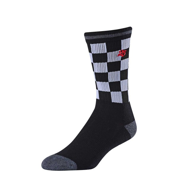 Troy Lee Crew Socks checker black 2019