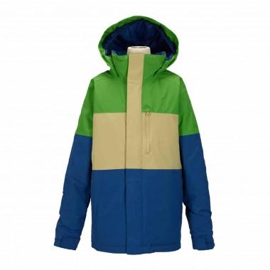 Burton Symbol Jacket boys slime block 15/16