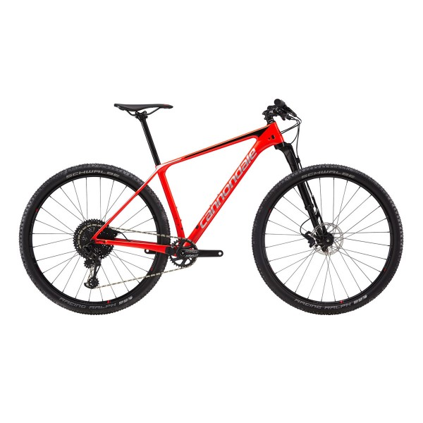 Cannondale F-Si Carbon 3 acid red 2019