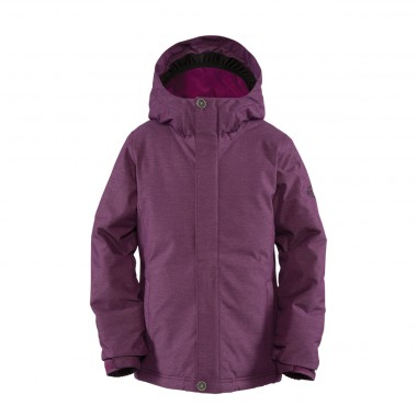 Bonfire Poppy Jacket girls merlot/storm 12/13