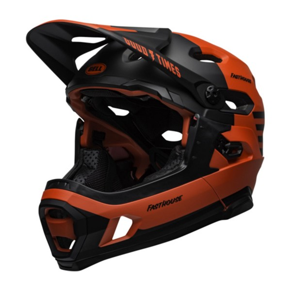Bell Super DH Mips mat red / black fasthose 2020