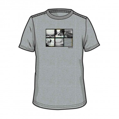 Burton Long Weekend SS Tee gray htr 15/16
