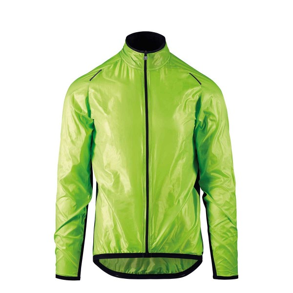 Assos Mille GT Wind Jacket visibility green 2020