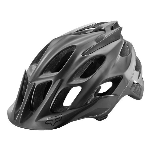 Fox Flux Helmet matte black 2017
