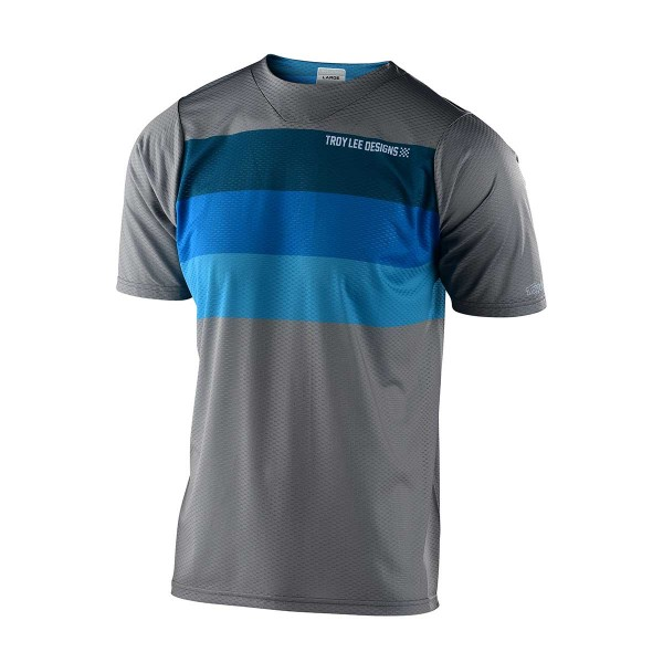 Troy Lee Skyline Air SS Jersey continental grey / blue 2020