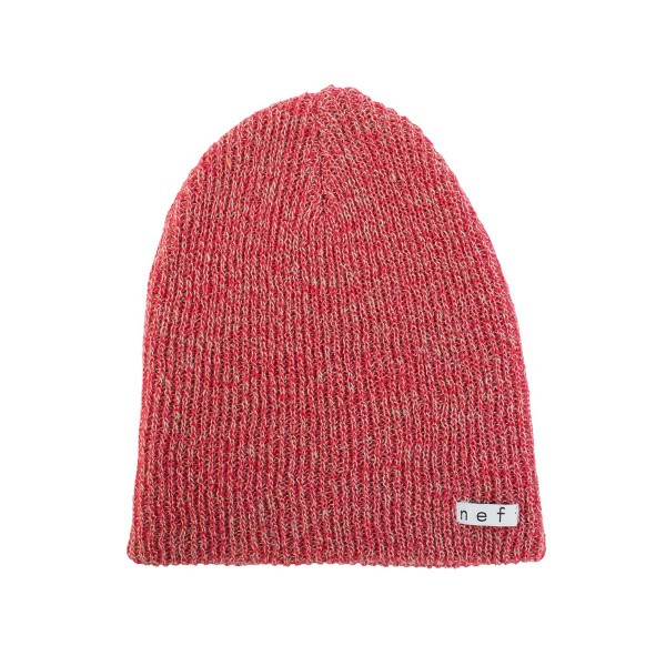 Neff Daily Heather Beanie red/twill 16/17