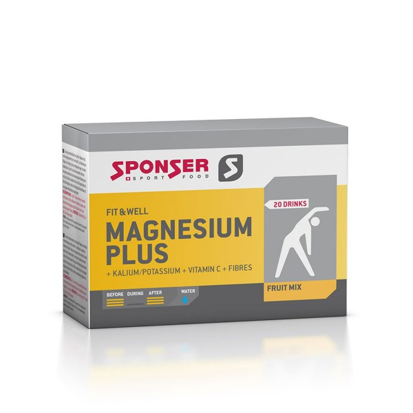 Sponser Magnesium Plus Drink 20x6,5mg