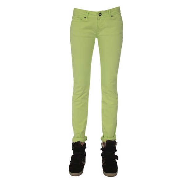 Volcom Oily Skinny Jean wms lime green 2013