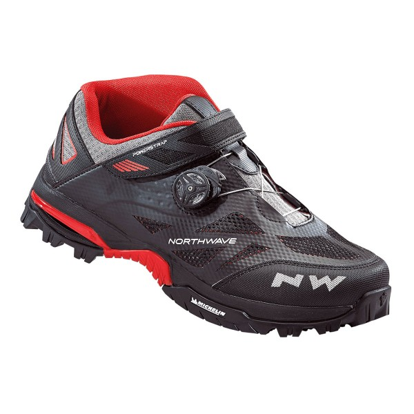 Northwave Enduro Mid black/red 2018