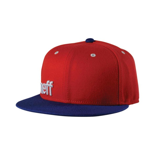 Neff Daily Cap Adj red/navy/white 13/14