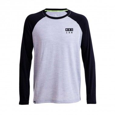 Mons Royale Coreshot Raglan LS black 16/17