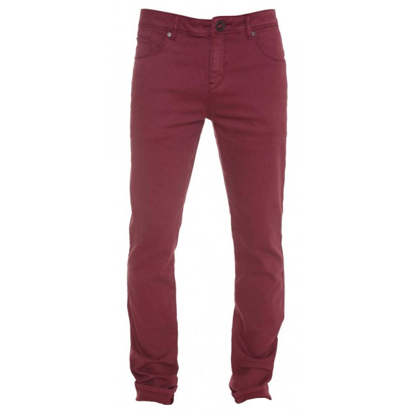 Volcom Chili Chocker Jean stain red 13/14