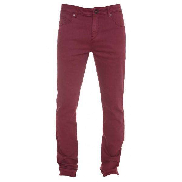 Volcom Chili Chocker Jean stain red