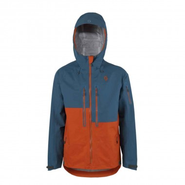 Scott Explorair 3L Jacket elipse blue/burnt orange 16/17