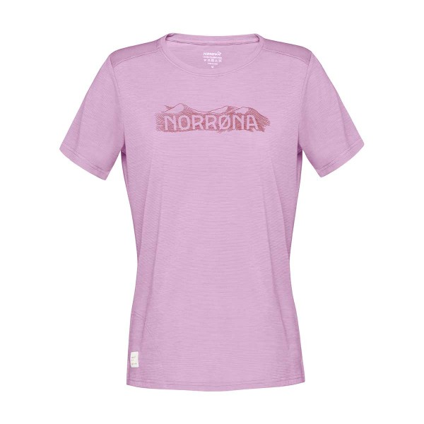 Norrona svalbard wool T-Shirt wms violet tulle 2021