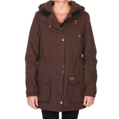 Volcom Every Day Parka java brown wms 12/13