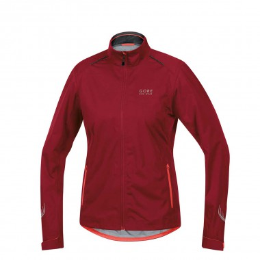 Gore Bike Wear Element Gore Tex Active Shell Jacke wms red/lumorg 14/15