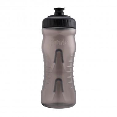 Fabric Trinkflasche grau/schwarz 600ml