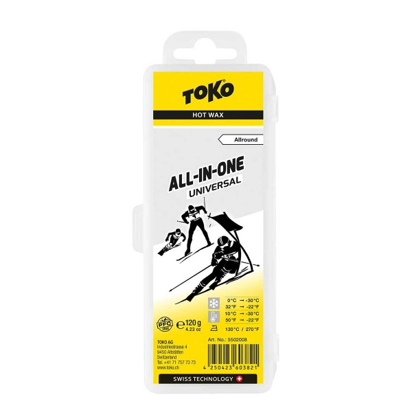 Toko All In One Universal 120g 19/20