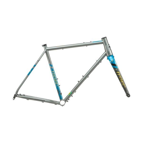 Niner RLT 9 Steel Frameset grey/blue 2020